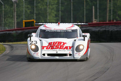 #23 Ruby Tuesday Championship Racing Porsche Crawford: Patrick Long, Jorg Bergmeister
