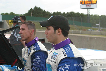 Scott Pruett and Memo Rojas after the race