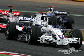 Nick Heidfeld, BMW Sauber F1 Team, Fernando Alonso, McLaren Mercedes, Nico Rosberg, WilliamsF1 Team