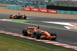 Christijan Albers, Spyker F1 Team, F8-VII, Adrian Sutil, Spyker F1 Team, F8-VII