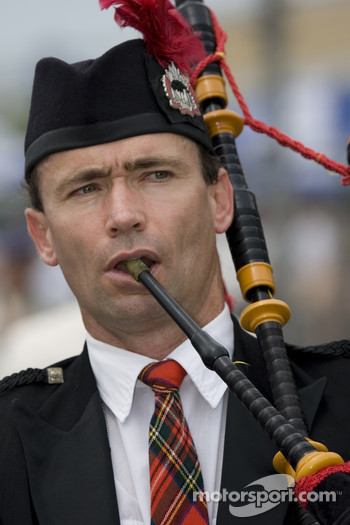 Bagpipe in the marching band
