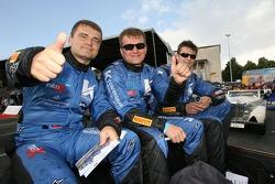 Robert Pergl, Alexei Vasiliev and Tomas Kostka