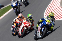 Valentino Rossi and Alex Barros