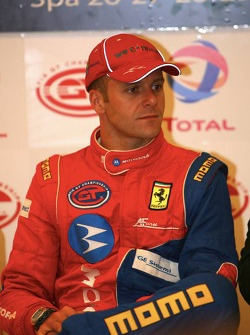 Press conference: GT2 pole winner Gianmaria Bruni