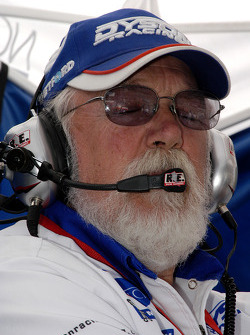 Bob Leitzinger listens to the team