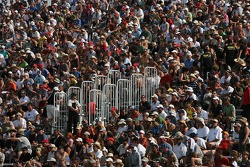 A big crowd at Circuit Gilles-Villeneuve for the Grand Am Rolex Series race