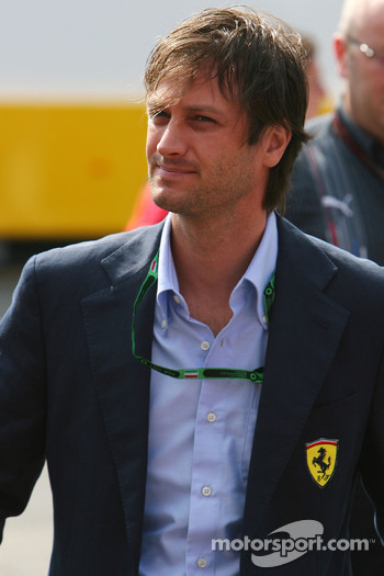 Danny Bahar, Scuderia Ferrari, Head of Marketing
