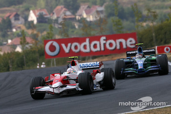 Jarno Trulli, Toyota Racing, Rubens Barrichello, Honda Racing F1 Team