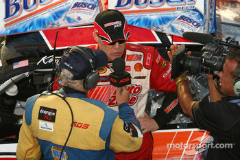Victory lane: interview for race winner Kevin Harvick