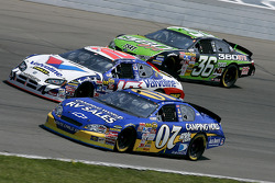 Clint Bowyer, Scott Riggs and Jeremy Mayfield