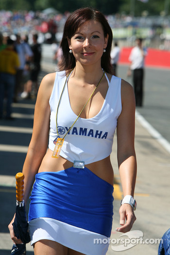 Yamaha girl
