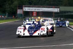 #10 Arena International Motorsport Zytek 07S-Zytek: Hayanari Shimoda, Stefan Johansson