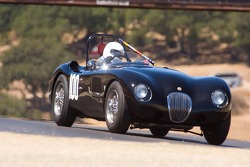 Terry Larson, 1952 Jaguar C-Type