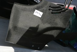 Honda Racing F1 Team, rear wing endplate