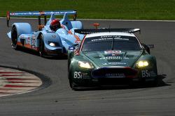 #50 AMR Larbre Competition Aston Martin DBR9: Christophe Bouchut, Gabriele Gardel, Fabrizio Gollin