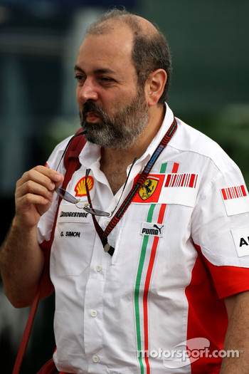 Gilles Simon, Scuderia Ferrari, Head of Engine Department