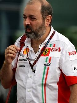 Gilles Simon, Scuderia Ferrari, Head of Engine Department