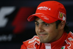 FIA press conference: pole winner Felipe Massa