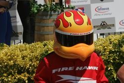 Victory lane: the Firestone Firehawk