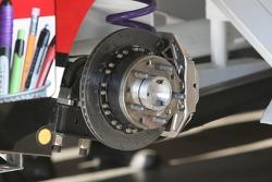 Detail of brakes