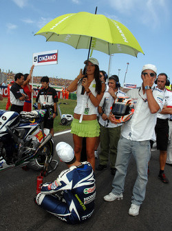 A lovely Team Gresini girl
