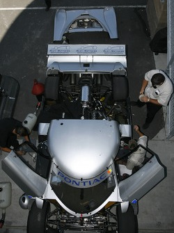 Riley-Matthews Motorsports team members at work