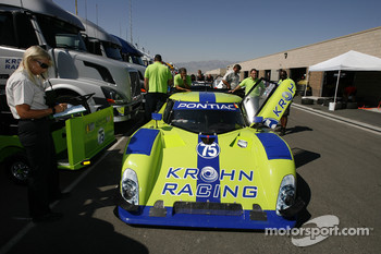 Krohn Racing Pontiac Riley at technical inspection