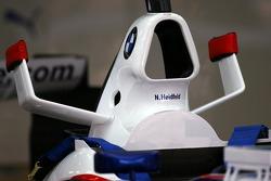 BMW Sauber F1 Team body work detail