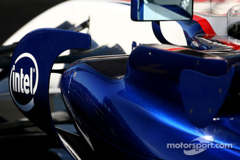 BMW Sauber F1 Team body work detail