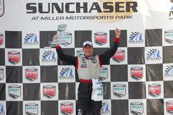 Championship podium: 2007 Grand-Am Rolex Series GT champion Dirk Werner
