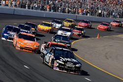 Clint Bowyer leads the field