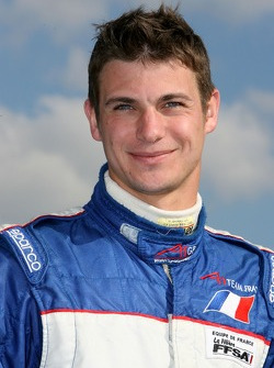Guillaume Moreau, driver of A1 Team France