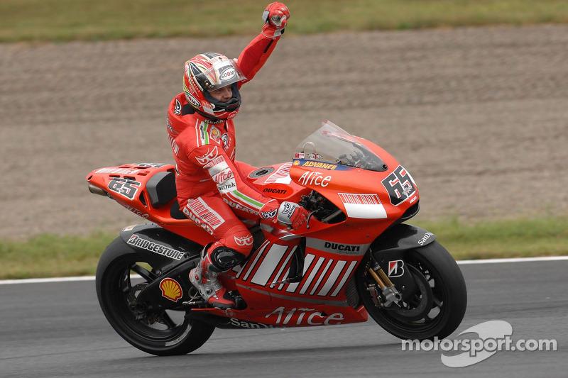 2007: Loris Capirossi (Ducati Desmosedici GP7)