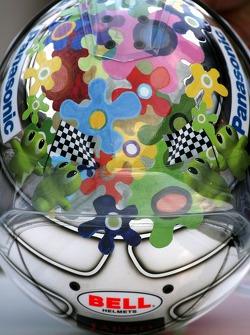 Jarno Trulli, Toyota Racing new helmet design