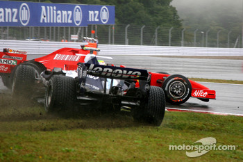 Alexander Wurz, Williams F1 Team, Felipe Massa, Scuderia Ferrari