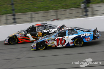 Greg Biffle and Martin Truex Jr.