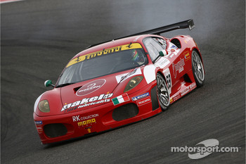 #59 Advanced Engineering Ferrari 430 GT6: Rui Aguas, Philipp Peter