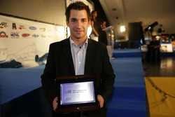 Timo Glock 2007 GP2 Series Champion collects his award