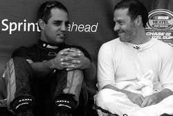 Juan Pablo Montoya and Jacques Villeneuve