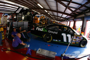 FedEx Ground Chevy garage area