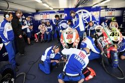 FIAT Yamaha MotoGP pitbox