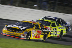 Dave Blaney leads Paul Menard and Kasey Kahne