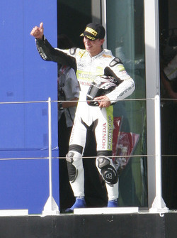Kenan Sofuoglu winner of Supersport race
