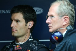 Mark Webber, Red Bull Racing and Helmut Marko, Red Bull Racing, Red Bull Advisor