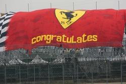 Big Scuderia Ferrari flag
