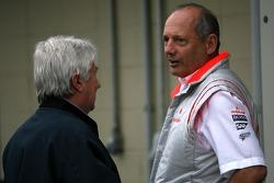 Ron Dennis, McLaren, Team Principal, Chairman, Herbie Blash, FIA Observer