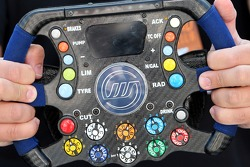 Technical Detail, steering wheel of a Williams
