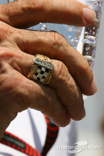 Emerson Fittipaldi Indy 500 winners ring