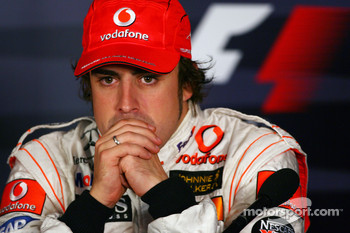 Press conference: Fernando Alonso