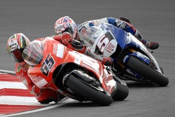 Loris Capirossi and Colin Edwards